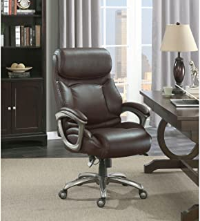 product image for La-Z-Boy Martin Big & Tall Executive Office Chair, Brown