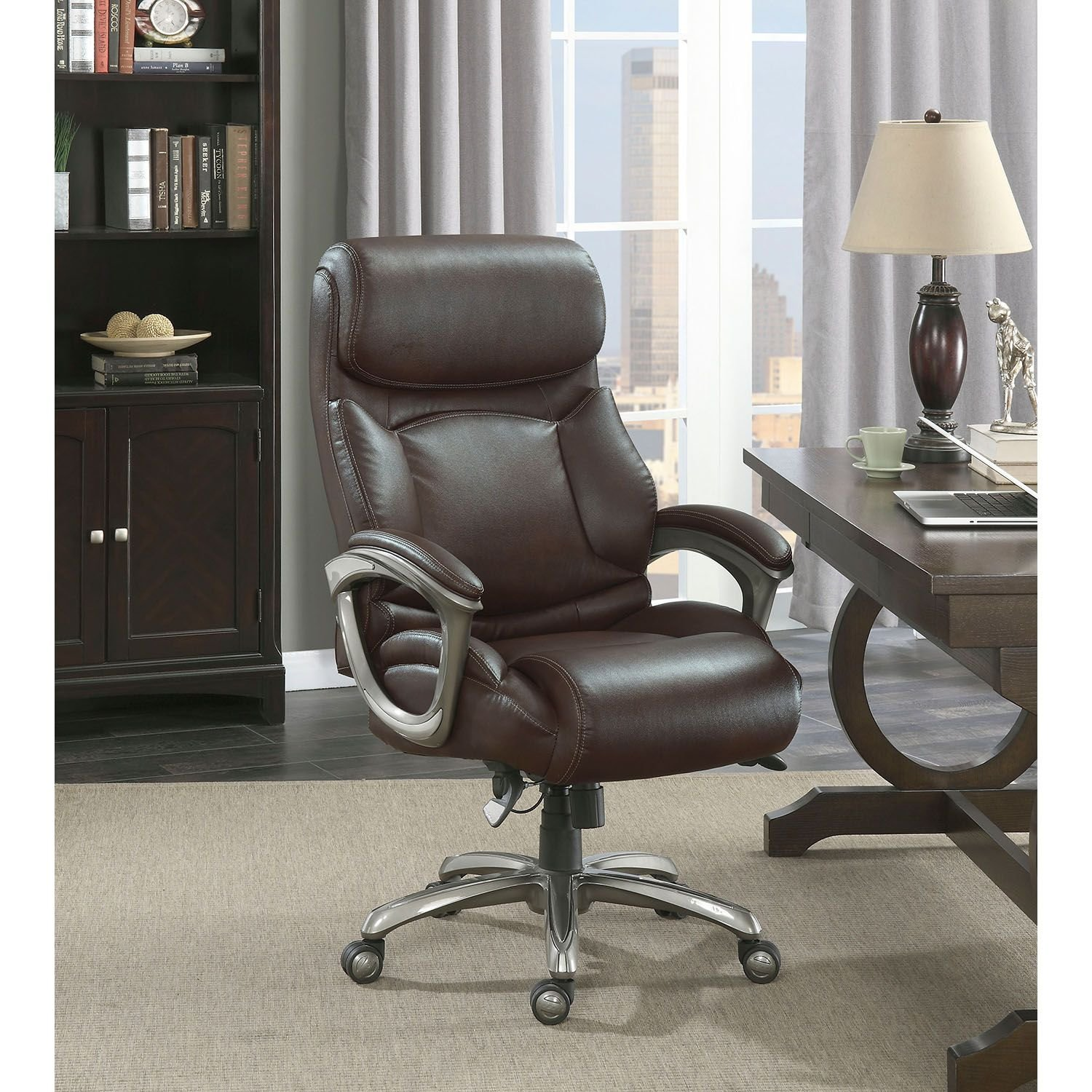 Amazon La Z Boy Martin Big & Tall Executive fice Chair