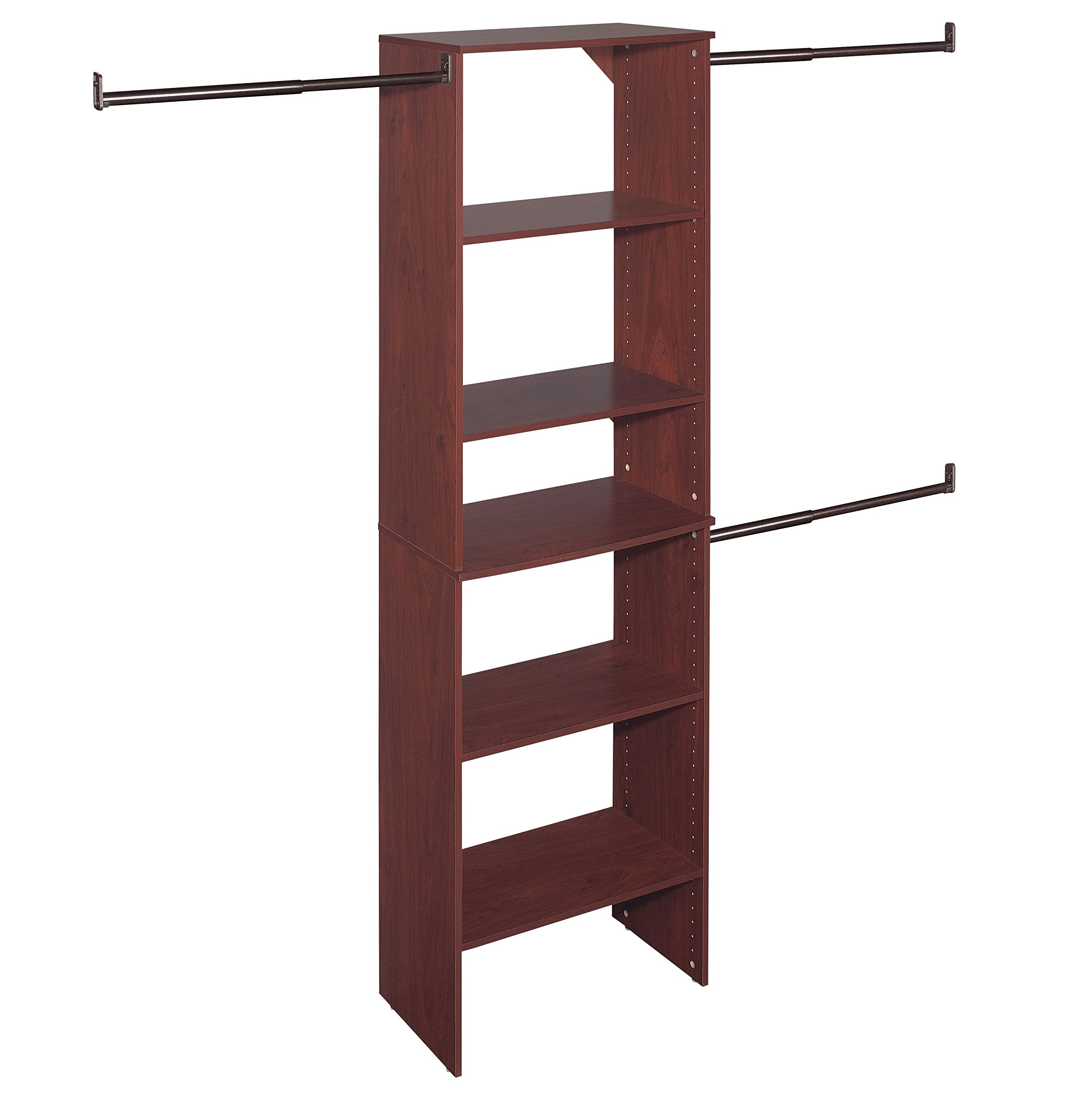 ClosetMaid 8895 SuiteSymphony 25-Inch Starter Tower Kit, Cherry