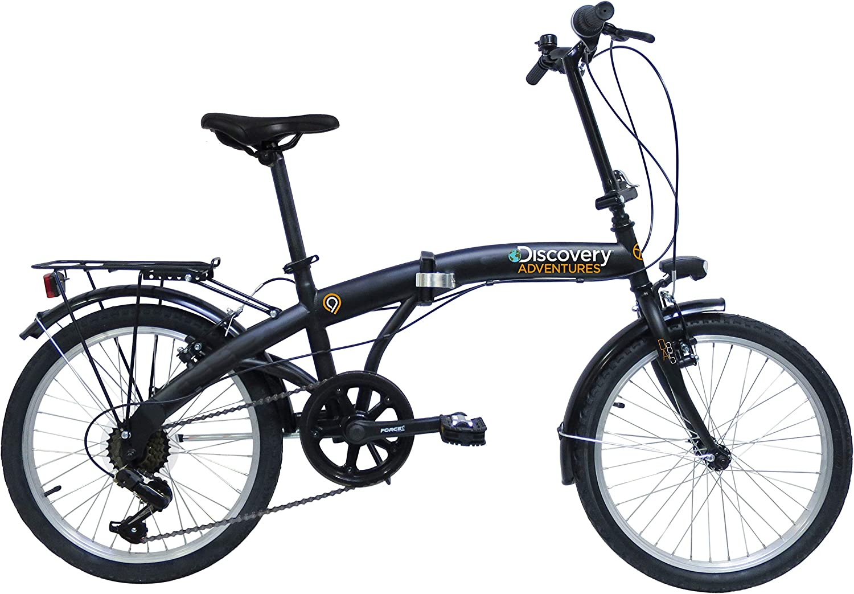 E.DE.N. Discovery Adventures - Bicicleta Plegable de 20 Pulgadas ...