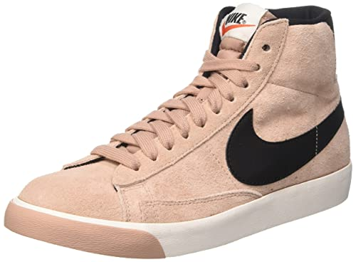 Nike Women's Blazer Mid Vintage Suede Hi-Top Trainers, Pink (Particle Pink/