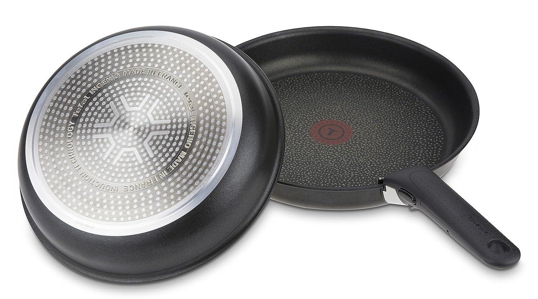 Tefal L6509105 Ingenio Expertise Set de Sartenes de Aluminio con Mango Extraíble, Antiadherente de Titanio, para Todo Tipo de Cocinas Incluido ...