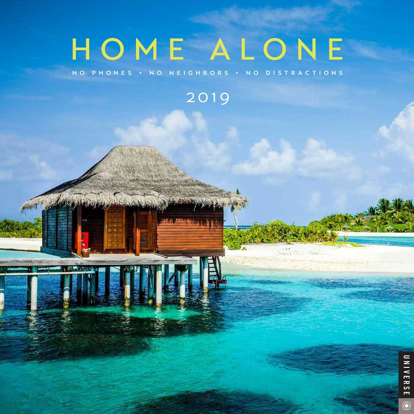 Home Alone 2019 Wall Calendar Universe Publishing 9780789334862