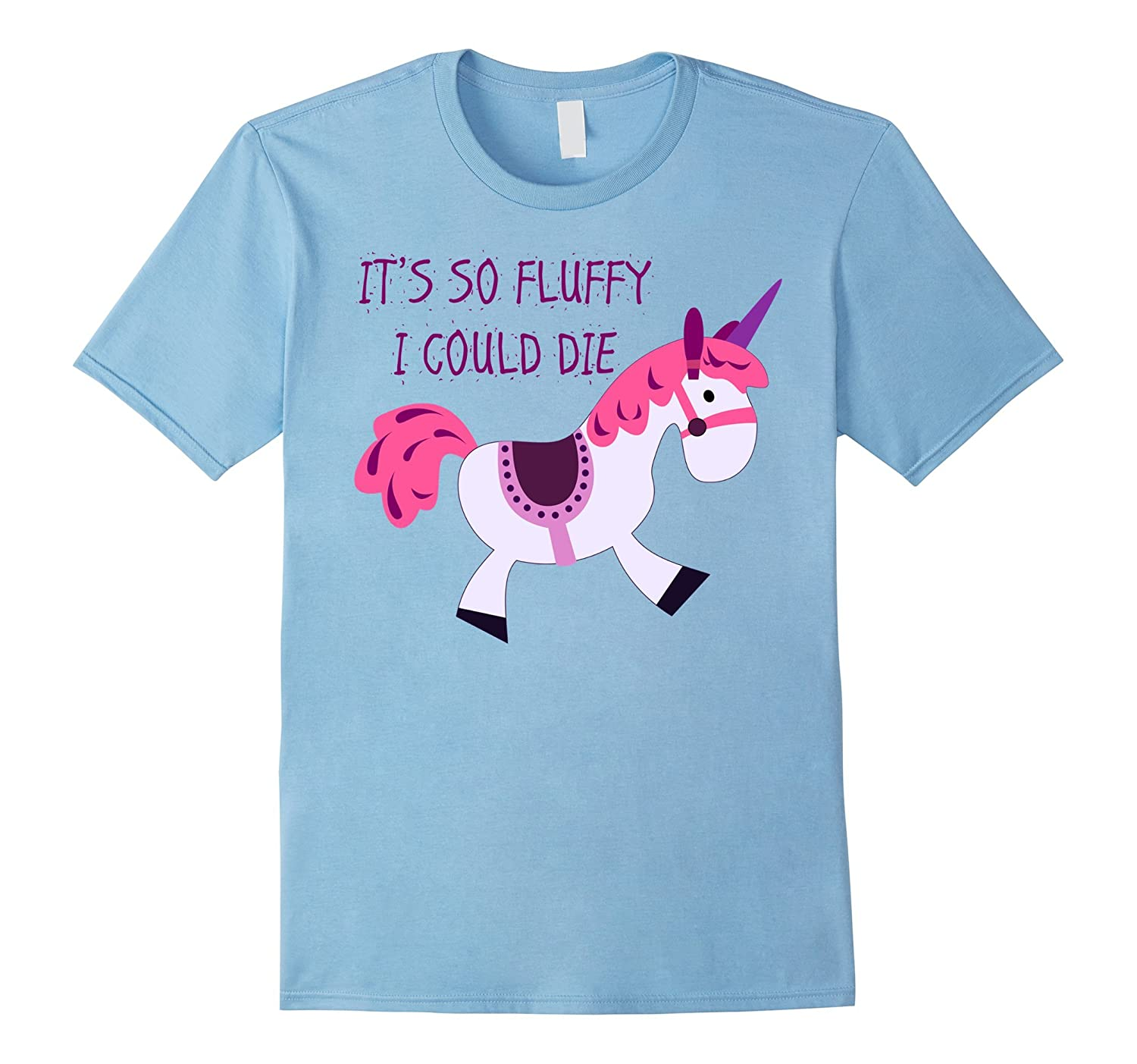 It's So Fluffy I Could Die Stuffed Unicorn Children's Toy