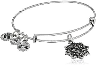 4b5399b4b Alex and Ani Healing Love II Bangle Bracelet, Rafaelian Silver, Expandable
