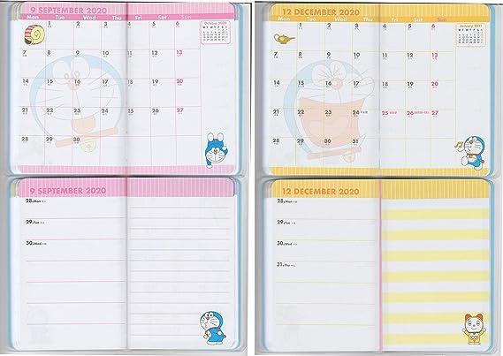 Amazon.com: Doraemon 2019~2020 planificador semanal mensual ...