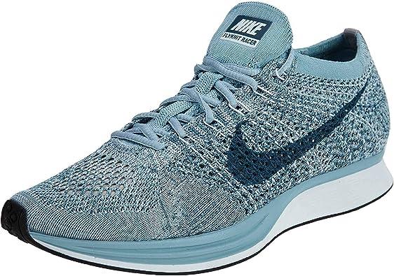 Nike Flyknit Racer - Zapatillas de correr para hombre, Azul
