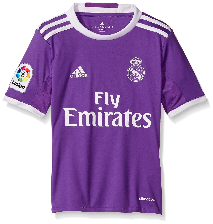 Violet blanc petit adidas International Soccer Youth Jersey