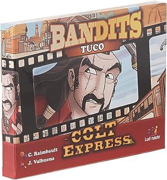 Asmodee- Colt Express: Bandit Pack - tuco Expansion en Castellano, Color (LUCOEX10NA): Amazon.es: Juguetes y juegos