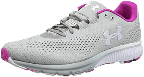new product 1e0c2 6e369 Under Armour UA W Charged Spark, Scarpe Running Donna, Grigio (Metallic  Silver