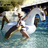Geekper Inflatable Giant Dragon Pool Float, Pool Party Toys Giant Pool Floats for Adults Kids, Outdoor Vacation Beach Loungers Lake Ride-ons River Raft, 98.4 x 98.4 x 54.2 Inch