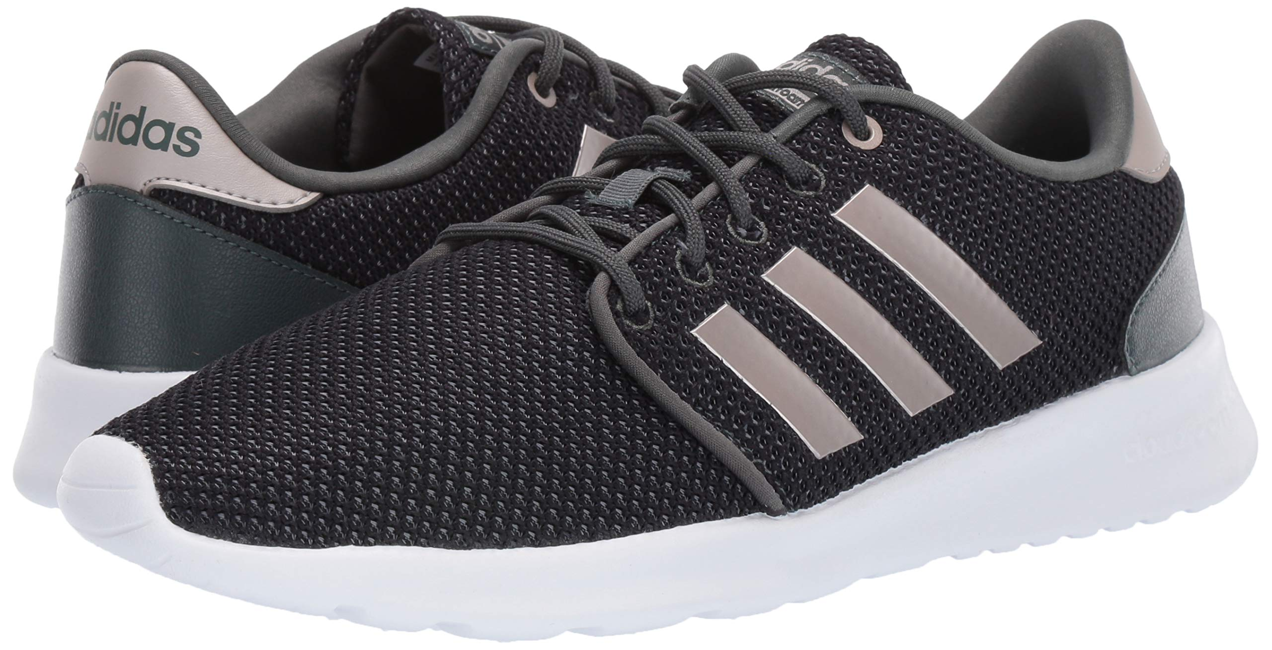 adidas Women's Cloudfoam QT Racer, Legend Ivy/Platino Metallic/Black 5 M US by adidas (Image #5)