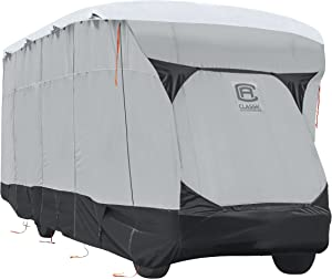 Classic Accessories Over Drive SkyShield Deluxe RV Class C Cover, Fits 29' - 32' RVs - Water Repellent RV Cover (80-379-101801-EX)