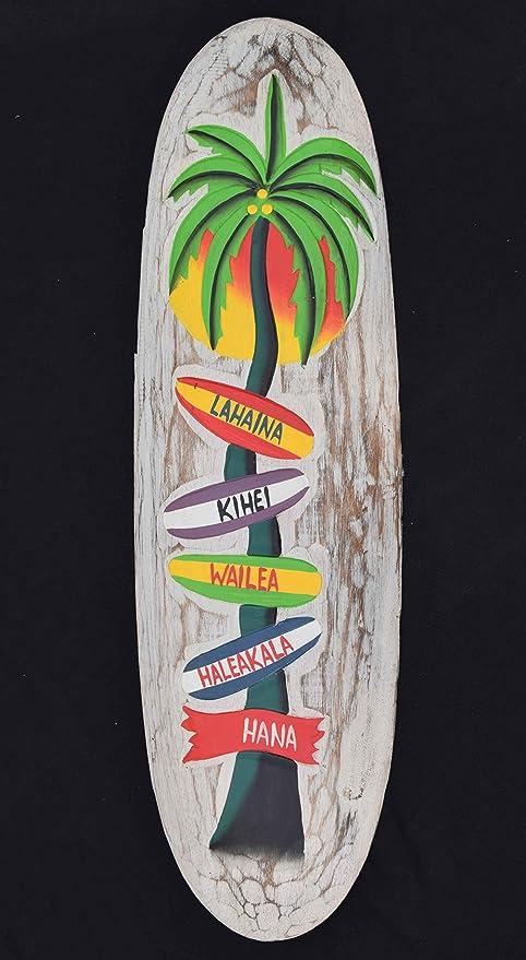 Tablas de 60 cm decoración de expulsión Hawaii Island