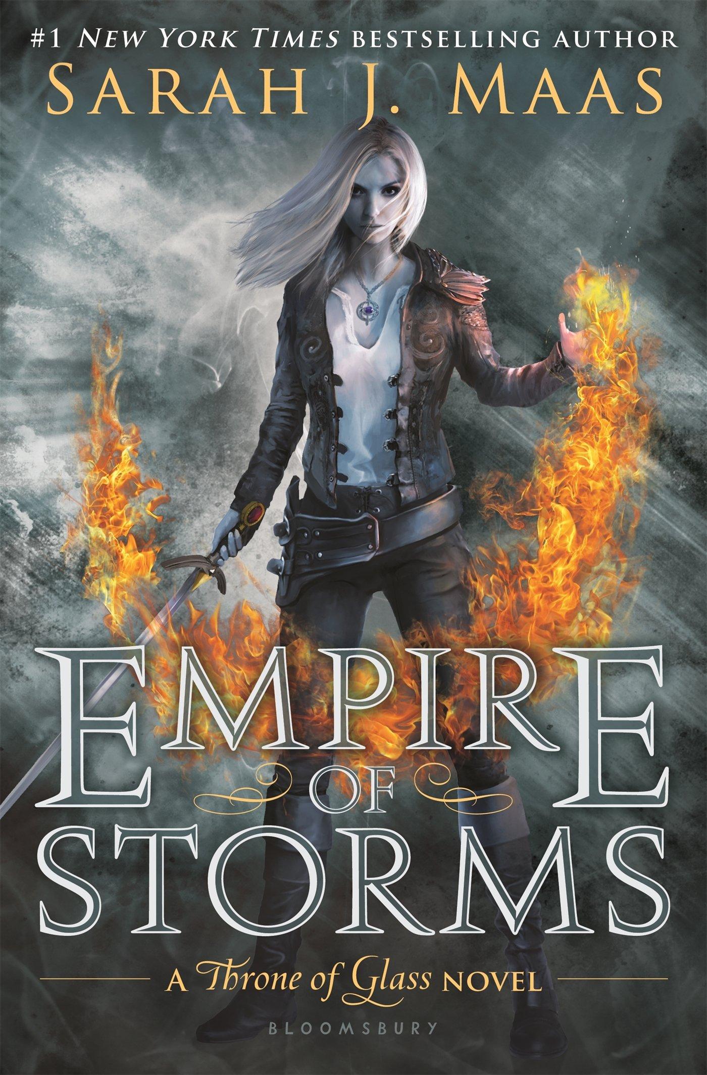 Amazon: Empire Of Storms (throne Of Glass) (9781619636071): Sarah J  Maas: Books