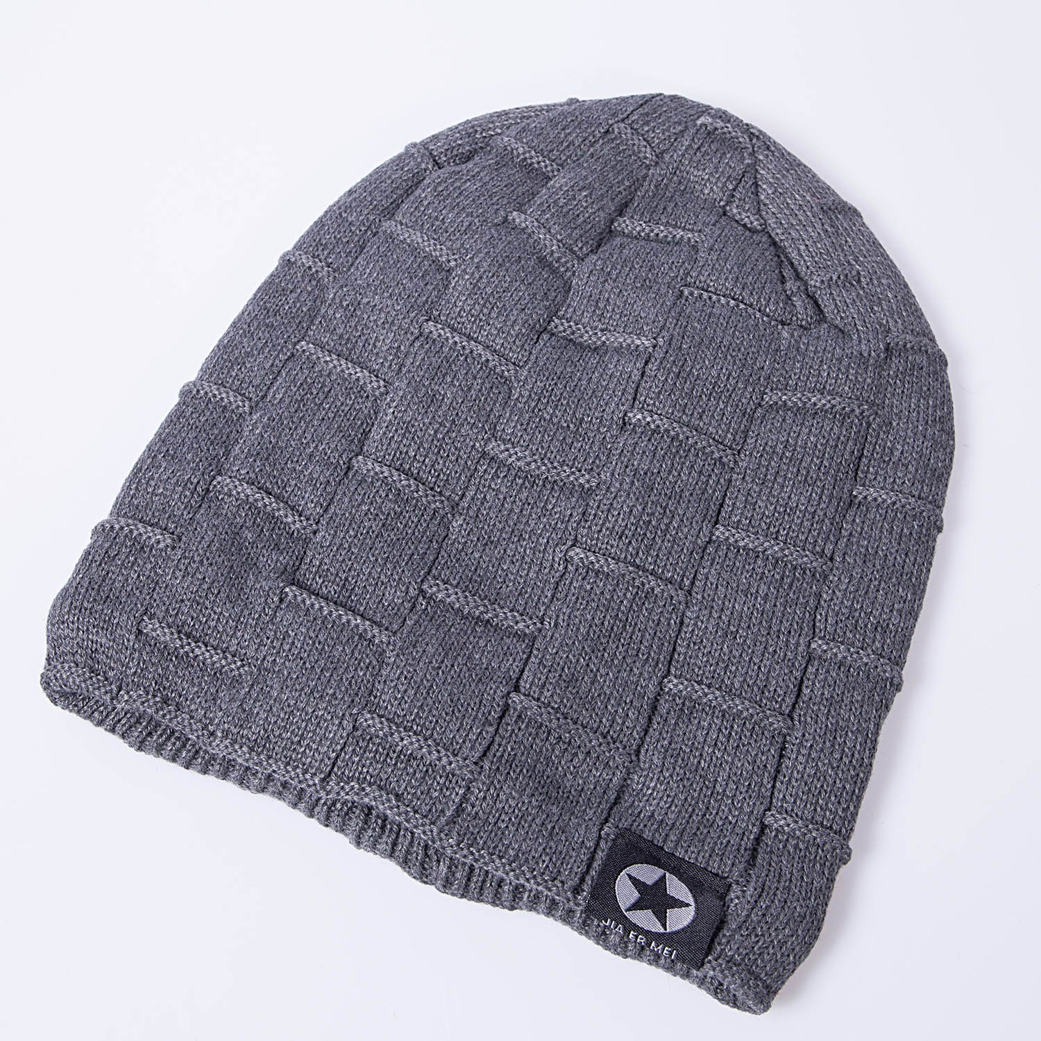 a9b0f90185c Senker Beanie Hat Winter Warm Cap Soft Thick Slouchy Knit Hats for Men and  Women
