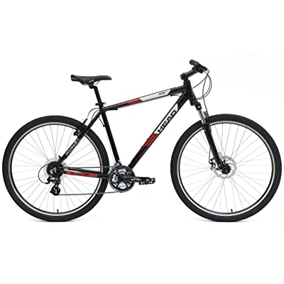 side facing head rise mountain bike