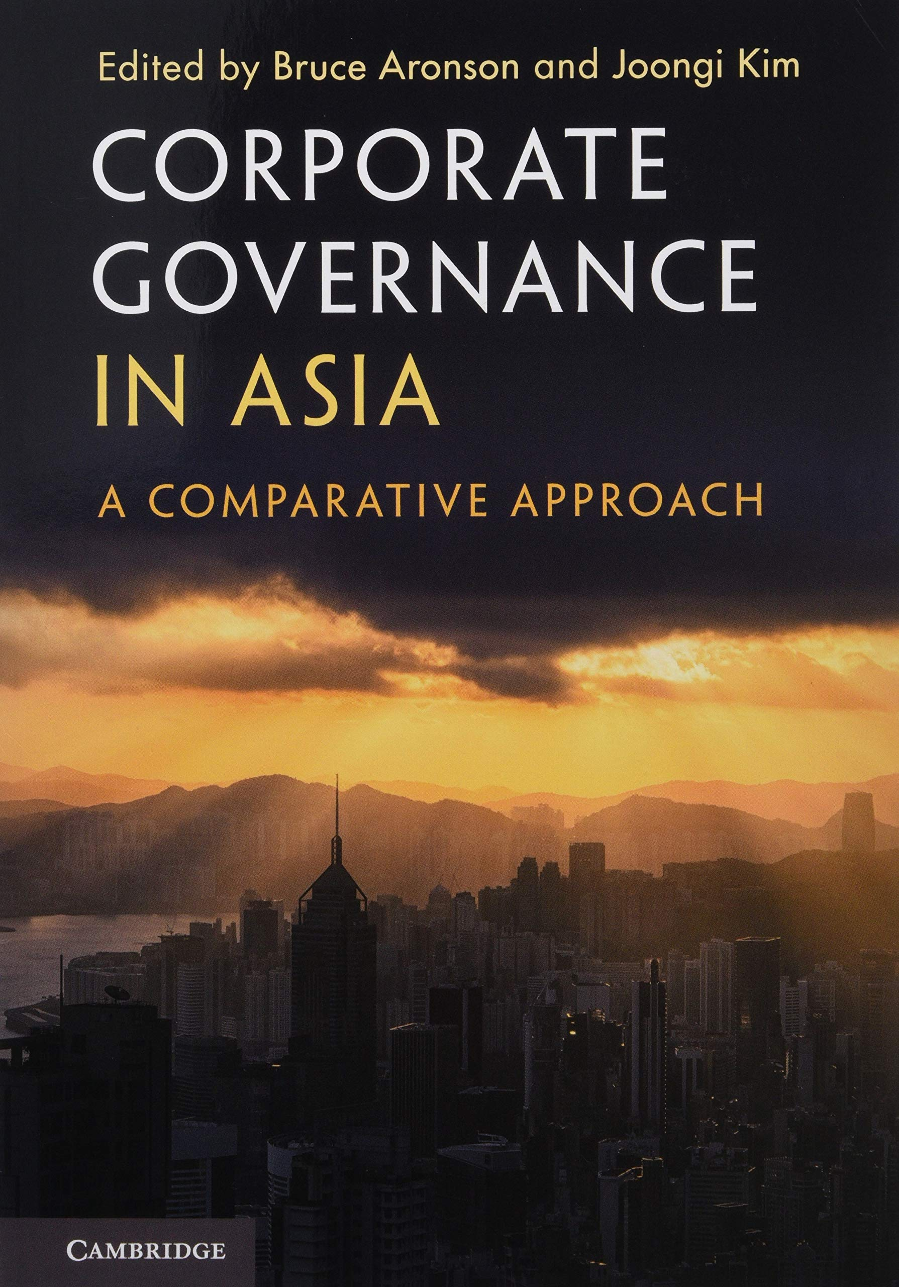 Corporate Governance In Asia  A Comparative Approach
