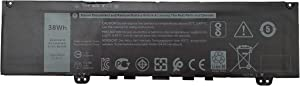 Kreen F62G0 Laptop Battery for Dell Inspiron 13 5370 7000 7370 7373 Vostro F62GO RPJC3 39DY5 CHA01 11.4 V 38WH