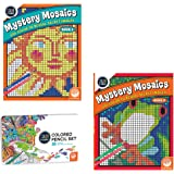 MindWare Color Number Mystery Mosaics Set: Books 1-2 pencils
