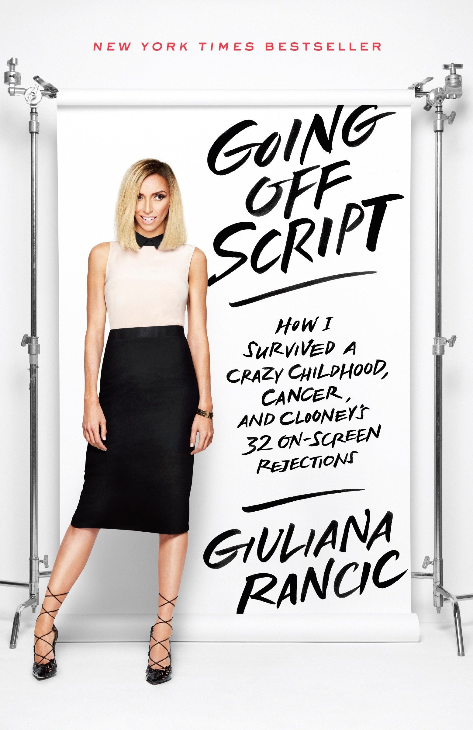 Download Going Off Script: How I Survived a Crazy Childhood, Cancer, and Clooney's 32 On-Screen Rejections pdf epub