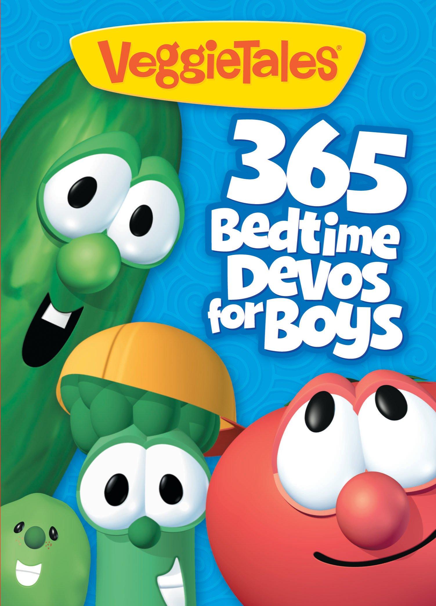 VeggieTales: 365 Bedtime Devos for Boys Paperback – January 20, 2012