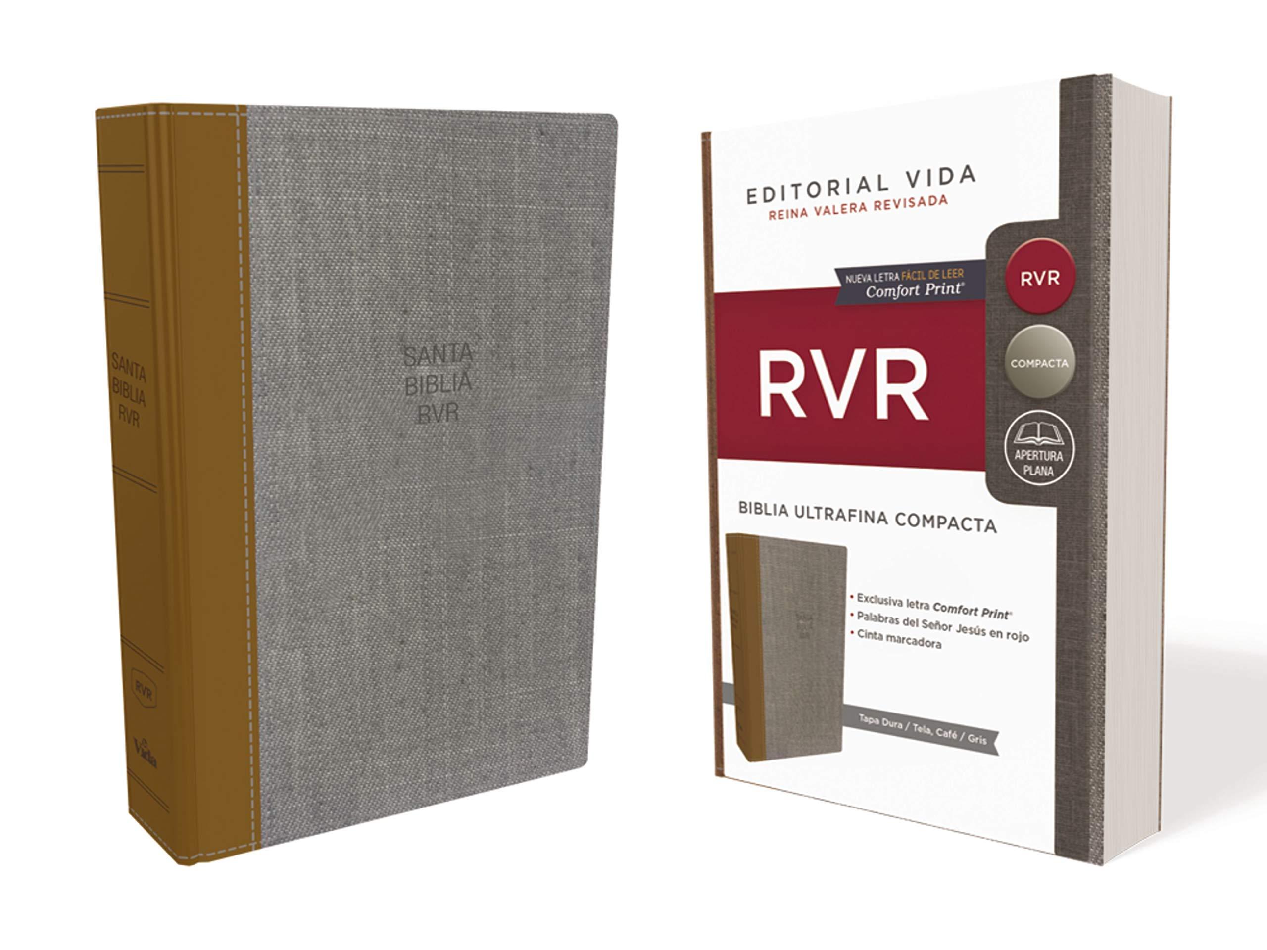 RVR Santa Biblia Ultrafina Compacta, Tapa Dura / Tela (Spanish Edition): Reina Valera Revisada: 9781404110304: Amazon.com: Books