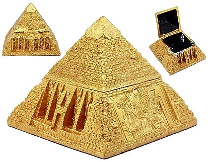 Amazon ebros golden ancient egyptian gods carved pyramid