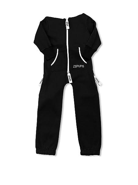Zipups Mono-Pijama Clean Cut Negro 4-5 años (104/110 cm