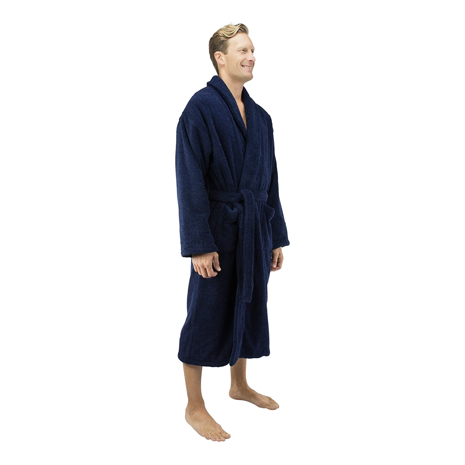 Turkish Terry Bathrobe XPR200 Comfy Robes Mens Deluxe 20 oz