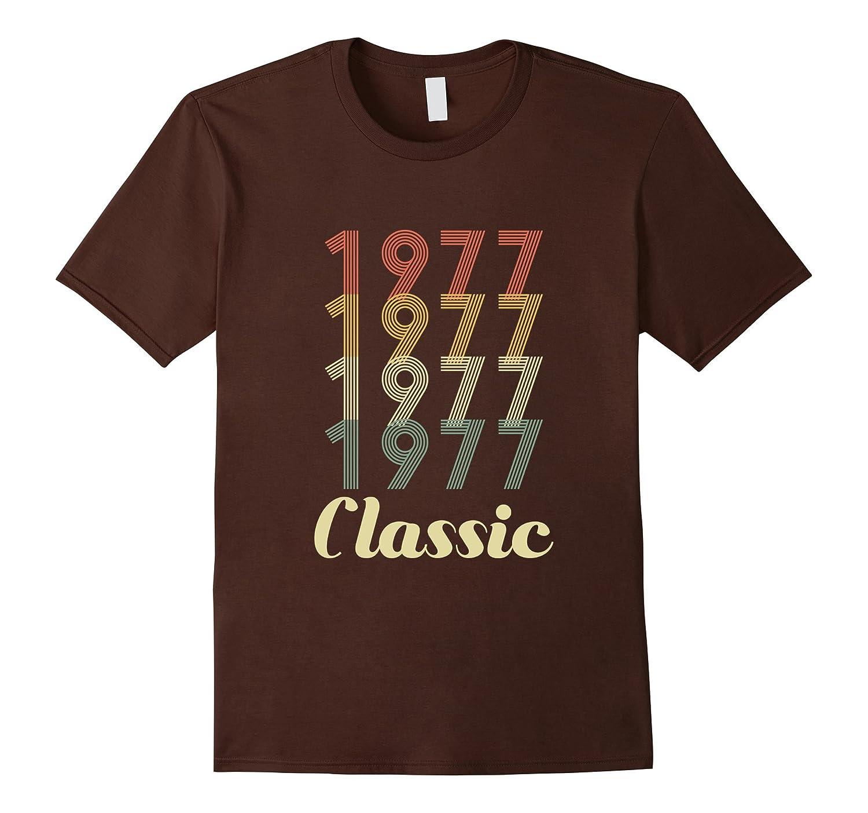 40th Birthday Vintage Gift - Classic 1977 Novelty T Shirt-FL