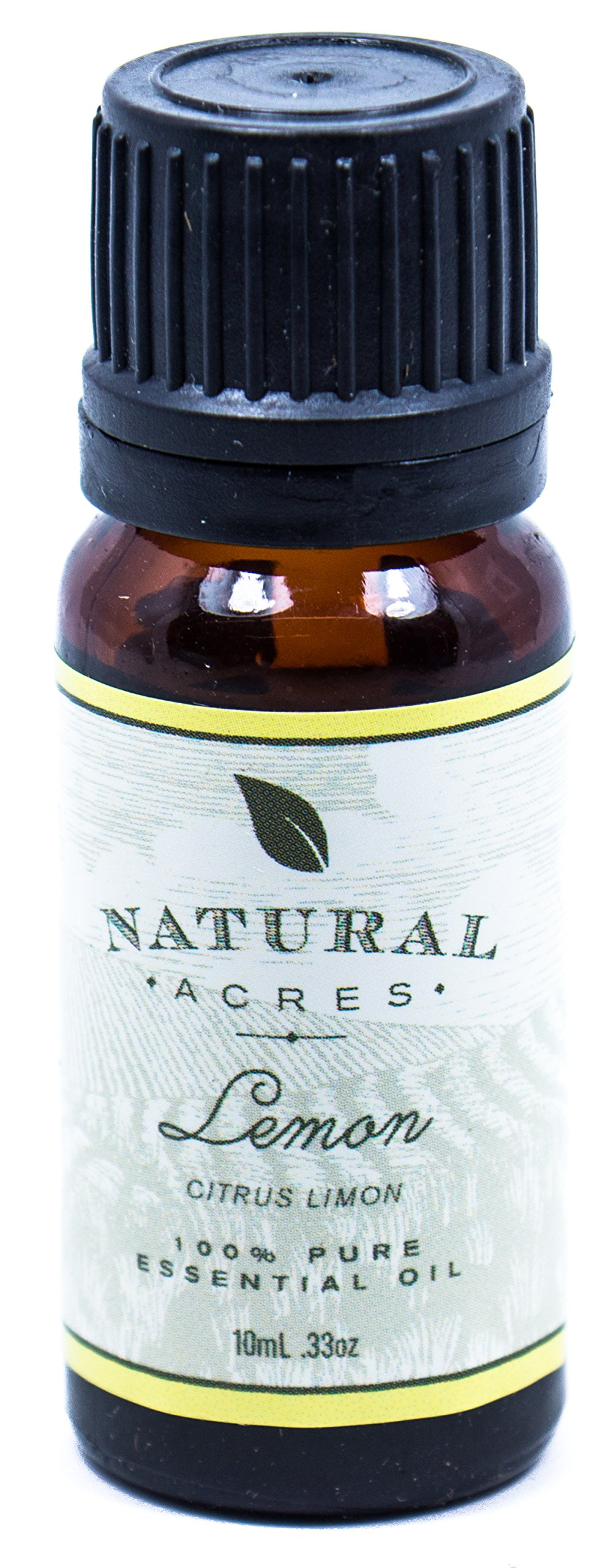 Lemon Essential Oil - 100% Pure Therapeutic Grade Lemon Oil by Natural Acres - 10ml