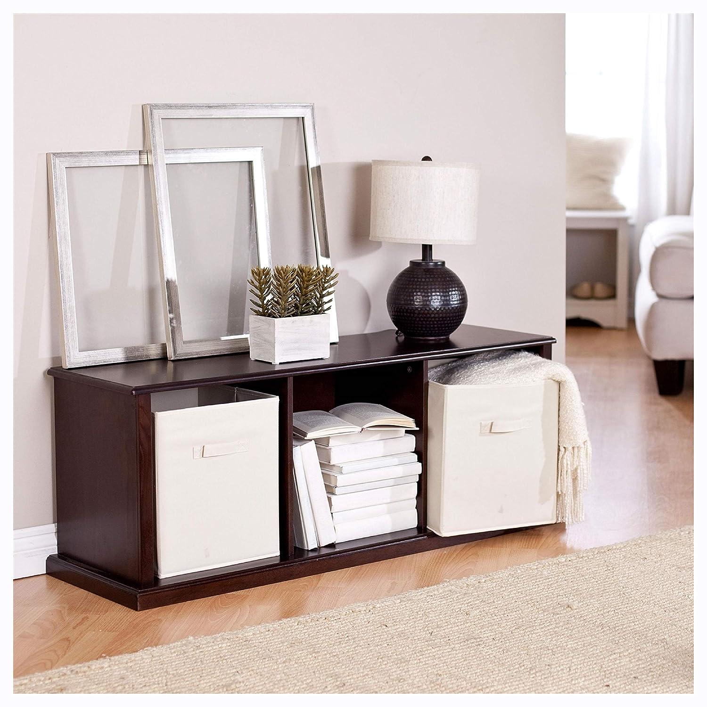 Amazon.com: Bookcases, Modern Brown Espresso Stacking ...