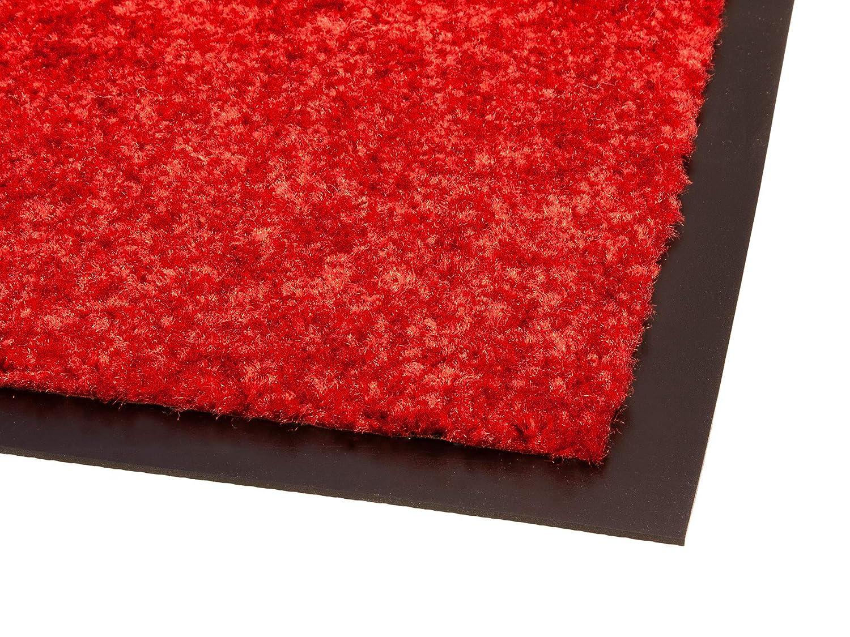 Primaflor - Ideen in Textil Schmutzfangmatte Schmutzfangmatte Schmutzfangmatte CLEAN – Anthrazit 90x120 cm, Waschbare, Rutschfeste, Pflegeleichte Fußmatte, Eingangsmatte, Küchenläufer Matte, Türvorleger für Innen & Außen B06WP9TDY3 Fumatten 638ba7