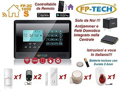 Alarma antirrobo pantalla táctil casa kit Combinador GSM ...