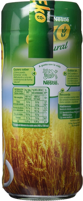 Nestlé EKO Cereales Solubles Sabor Natural - 2 Paquetes de 150g ...
