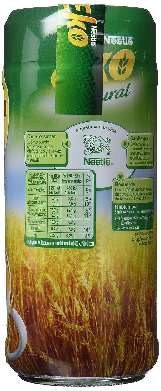 Nestlé EKO Cereales Solubles Sabor Natural - 2 Paquetes de 150g - Total: 300 g: Amazon.es: Alimentación y bebidas