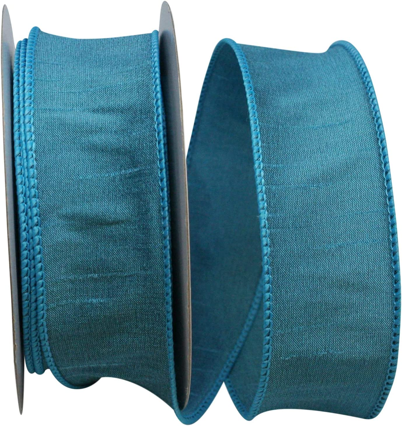 Dupioni Supreme Wired Edge Ribbon 10 Yards 1-1//2-Inch