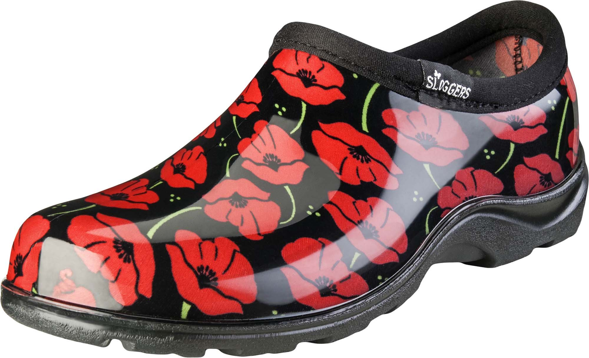 Sloggers Women's Waterproof  Rain and Garden Shoe with Comfort Insole, Poppy Red, Size 9, Style 5116POR09 by Sloggers
