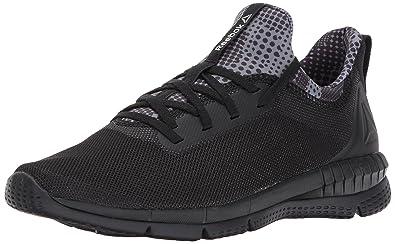 Reebok Women s Print HER 2.0 CAMO Track Shoe Black White c2307cf06