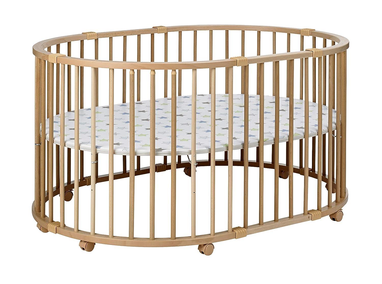 Geuther Laufgitter Baby Parc 134x97cm Höhenverstellbarer Laufstall Baby Geuther Holzartikel