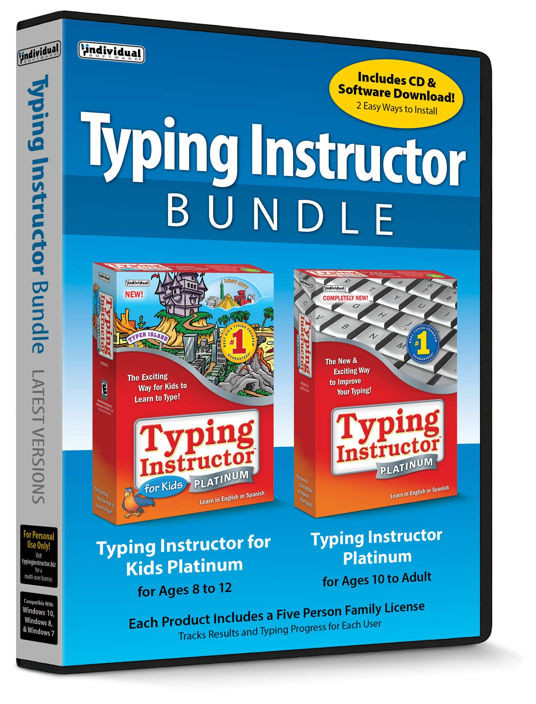 Typing Instructor Bundle by Individual Software