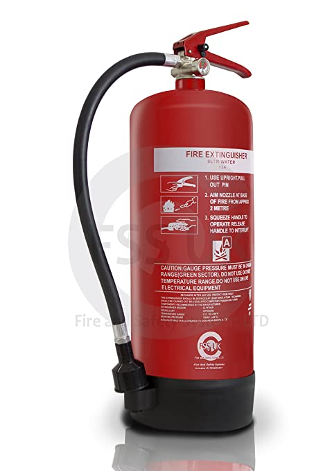 9 LITRE WATER Fire Extinguishers CE And BSI Kitemarked Newly Manufactured Ideal For Boats