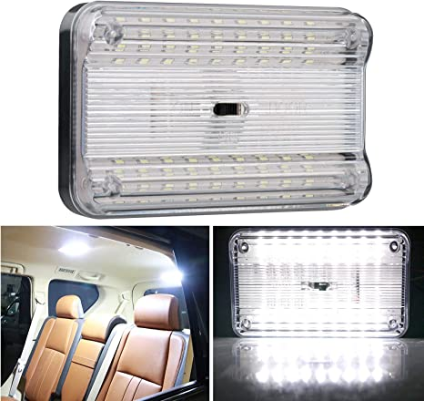 36 LED Auto Car Interior Dome Ceiling Light Rectangular Book Reading Lamp 12V Input Car Accessories