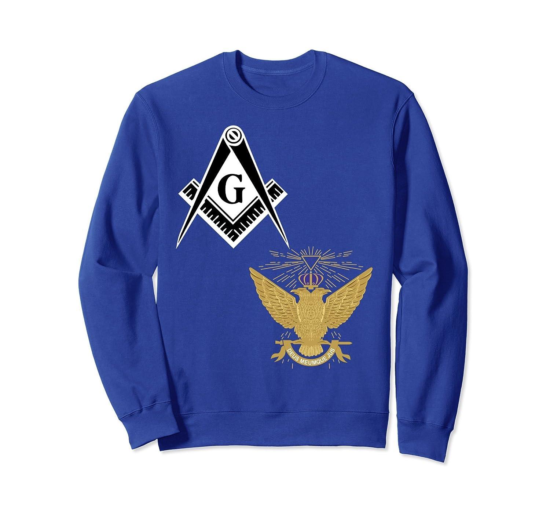 33rd Degree Mason Split Sweatshirt Scottish Rite Masonic Up-TH
