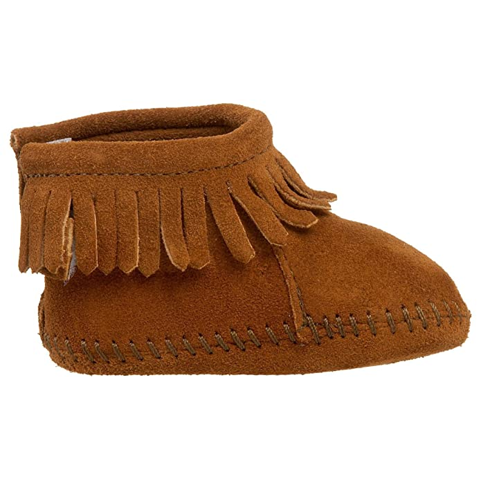 Minnetonka - Mocasines para Bebés, color Marrón (Brown), talla 19: Amazon.es: Zapatos y complementos