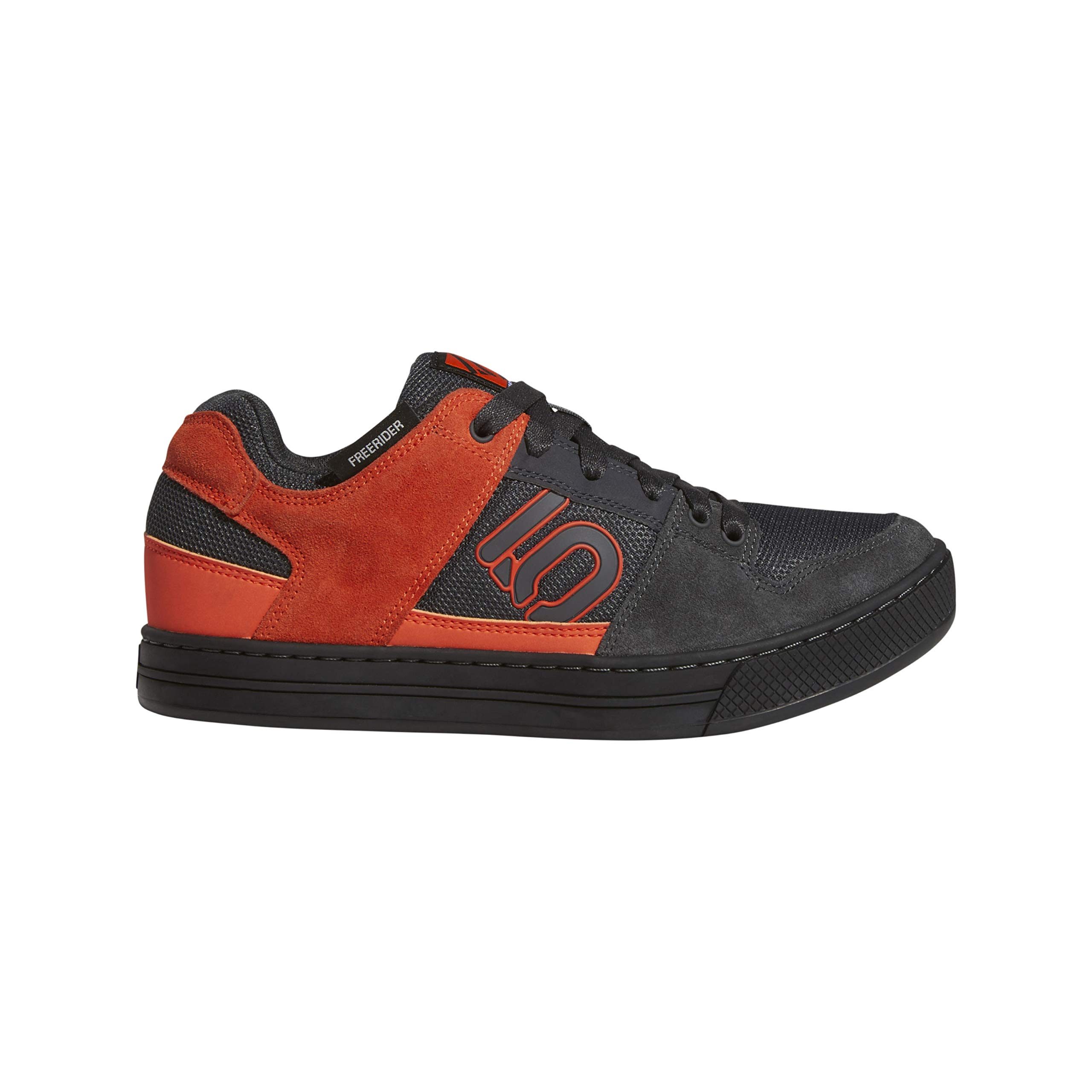 Five Ten Freerider Mens Mountain Bike Shoe Carbon/Active Orange/Grey Five, Size 8.5