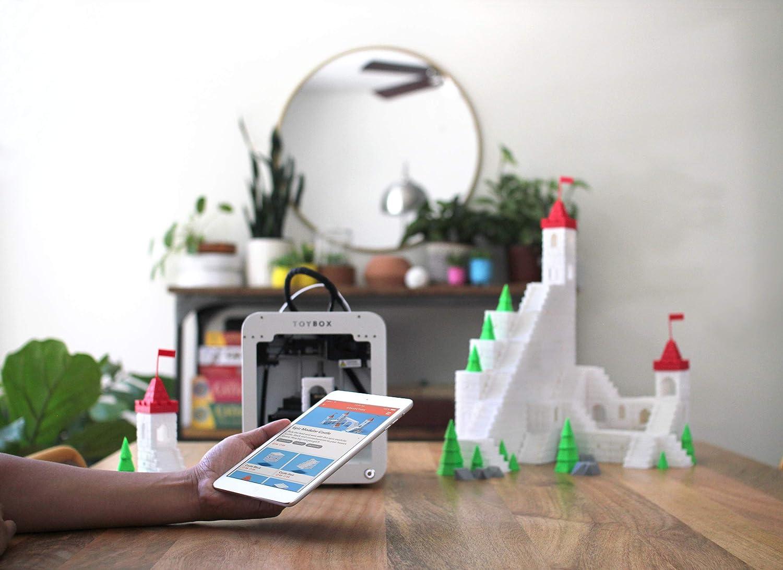 Impresora 3D Toybox para niños, no necesita software (incluye ...
