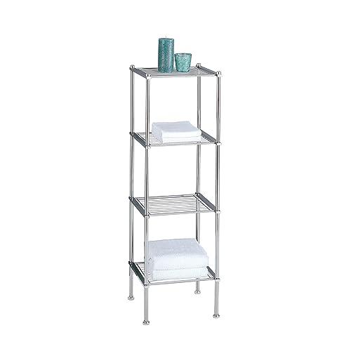 Organizing Bathroom Shelves: Small Bathroom Table: Amazon.com