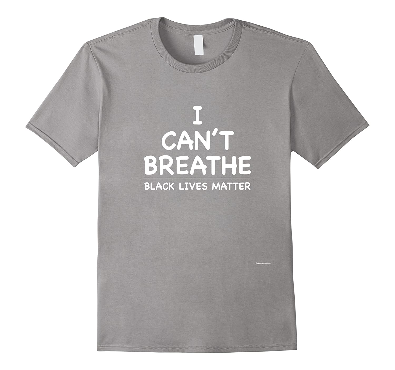 I Can't Breathe Shirt Black Lives Matter Simple Message Tee-T-Shirt